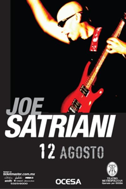 JOE SATRIANITeatro Metropolitan