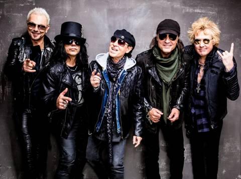 SCORPIONSCelebra el lanzamiento de RETURN TO FOREVER por YAHOO LIVE STREAM, SCORPIONS presenta Return Forever en Yahoo, Yahoo Streaming presenta a los Scorpions,  Scorpions y su primer show mundial