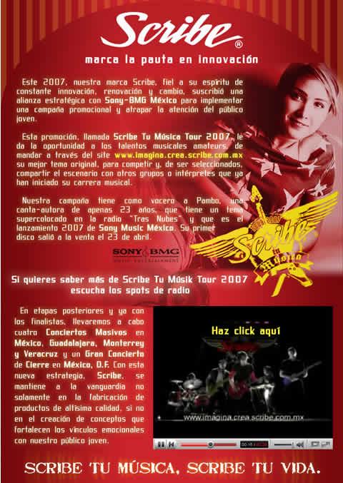 SCRIBE TU MUSICATOUR 2007