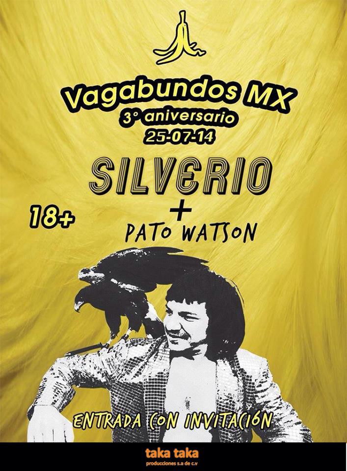 SILVERIO SILVERIO EL PADRINO DE LUJO EN EL 3ER ANIVERSARIO DE VAGABUNDOS.MX,