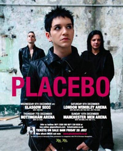 Placebo en México Palacio de los deportes