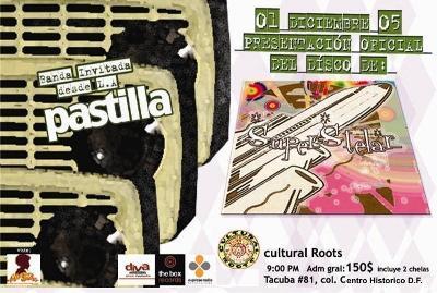 Superstelar y PastillaPresentación de nuevo disco-Cultural Roots