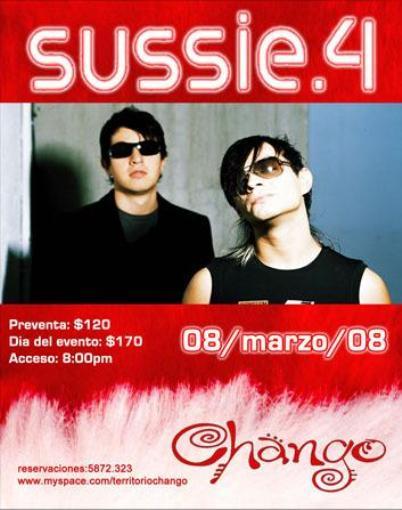 SUSSIE 4En el Chango