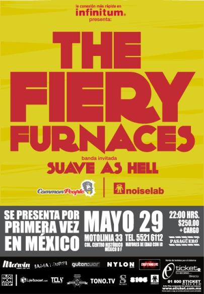 THE FIERY FURNACESEn México