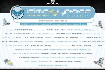 TIME & SPACEHorarios e información adicional