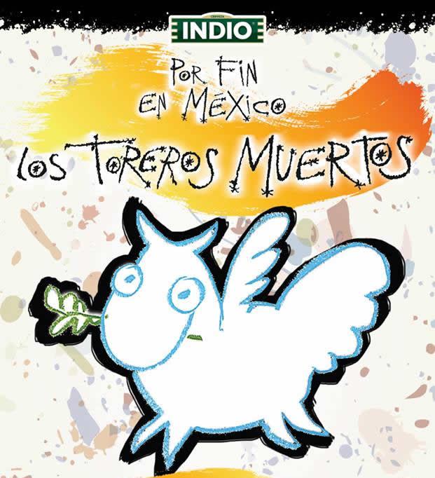 TOREROS MUERTOSCelebran 30 aniversario y visitan nuestro país,
