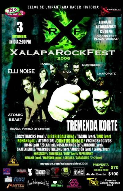 XALAPA ROCK FEST Diciembre 03 2006
