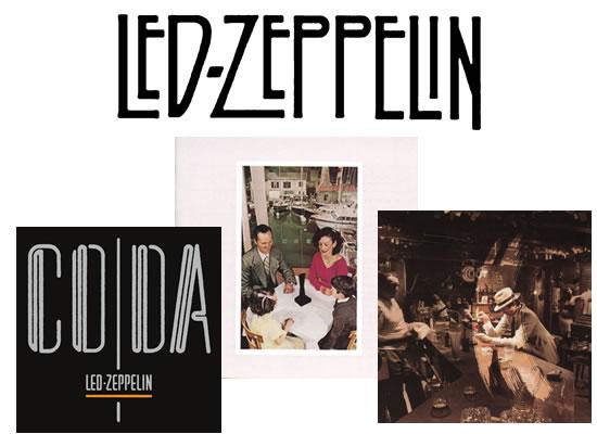 ediciones de lujo de Led Zeppelin