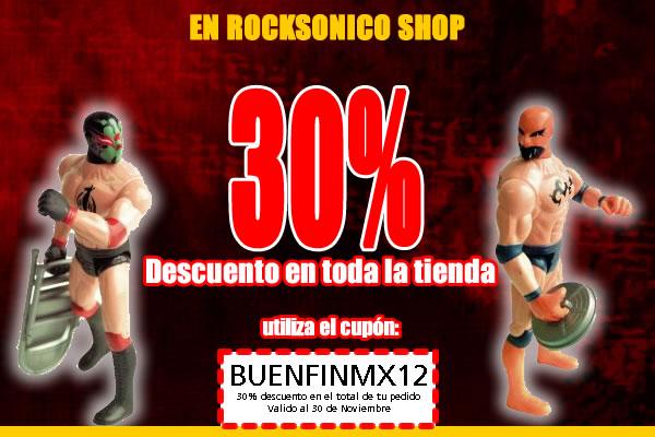 30% de descuento en nuestra tienda, utiliza el cupón BUENFINMX12